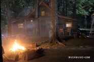 The Fire Where Jake &amp; Alli Kiss &amp; Jake&#39;s Cabin