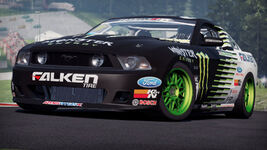 Monster Energy/Falken Tire Ford Mustang GT