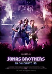 Jonas Brothers en Concierto 3D