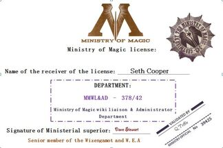 SETH&#39;S CREDENTIALS