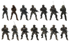 UNSC Army variations