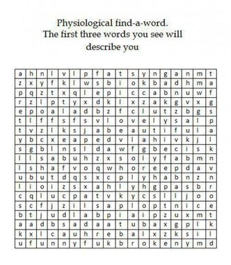 Physiological find a word