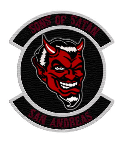Sons of Satan MC http://ogmtarp.wikia.com/wiki/Sons_of_Satan_Motorcycle_Club