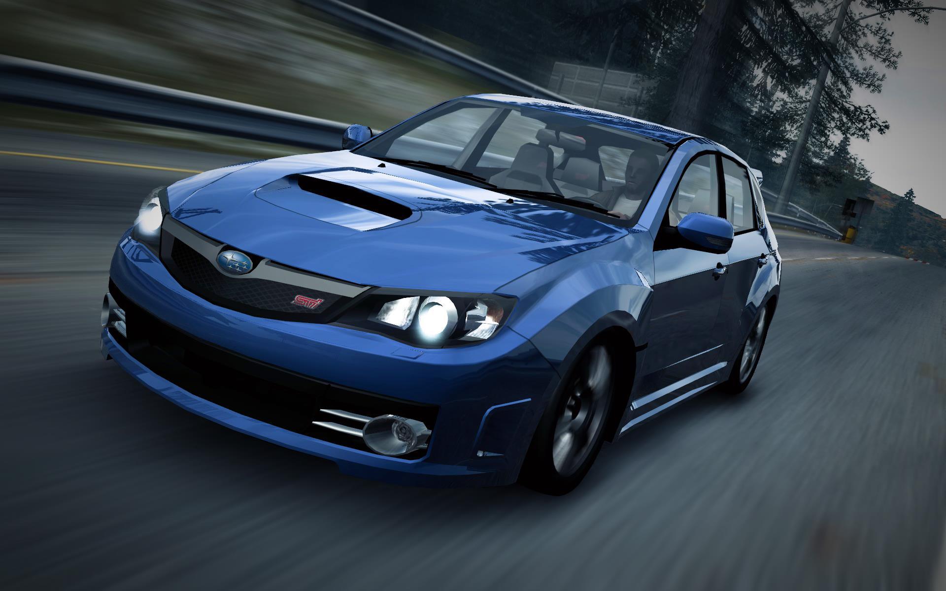 PRIMER AUTO OFICIAL DE NFT:  Subaru Impreza WRX STI (hatchback) CarRelease_Subaru_Impreza_WRX_STI_Hatchback_Blue