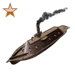 Item rumrunnergunboat bronze 01