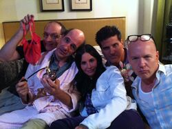 The Blanks in Cougar Town