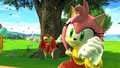 Amy and Knuckles SG Ending Cutscene