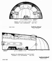 Constitution class hangar deck definitive concept