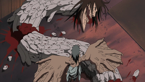 Sasuke Defeats Orochimaru