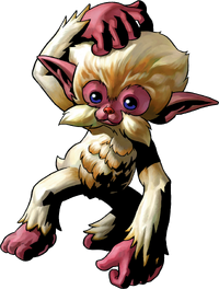 Monkey Artwork (Majora&#39;s Mask)
