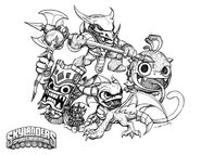 Skylanders magic