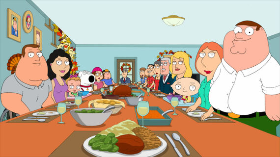 Family Guy Season 10 Episode 6 Thanksgiving