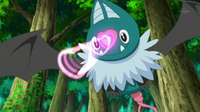 EP716 Swoobat usando encanto