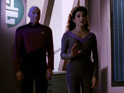 Picard and Troi make first contact
