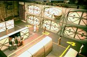 Constitution class cargo bay set