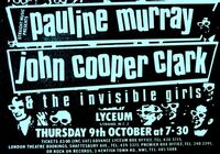1 Invisible Girls - Lyceum Auditorium, London, England duran duran poster 9 october 1980