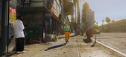 GTA V STREET WITH ALLEY