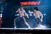 Miguel vs Jin Tekken Movie