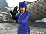 Anna Williams - Closeup - Player Two Outfit - Tekken 5