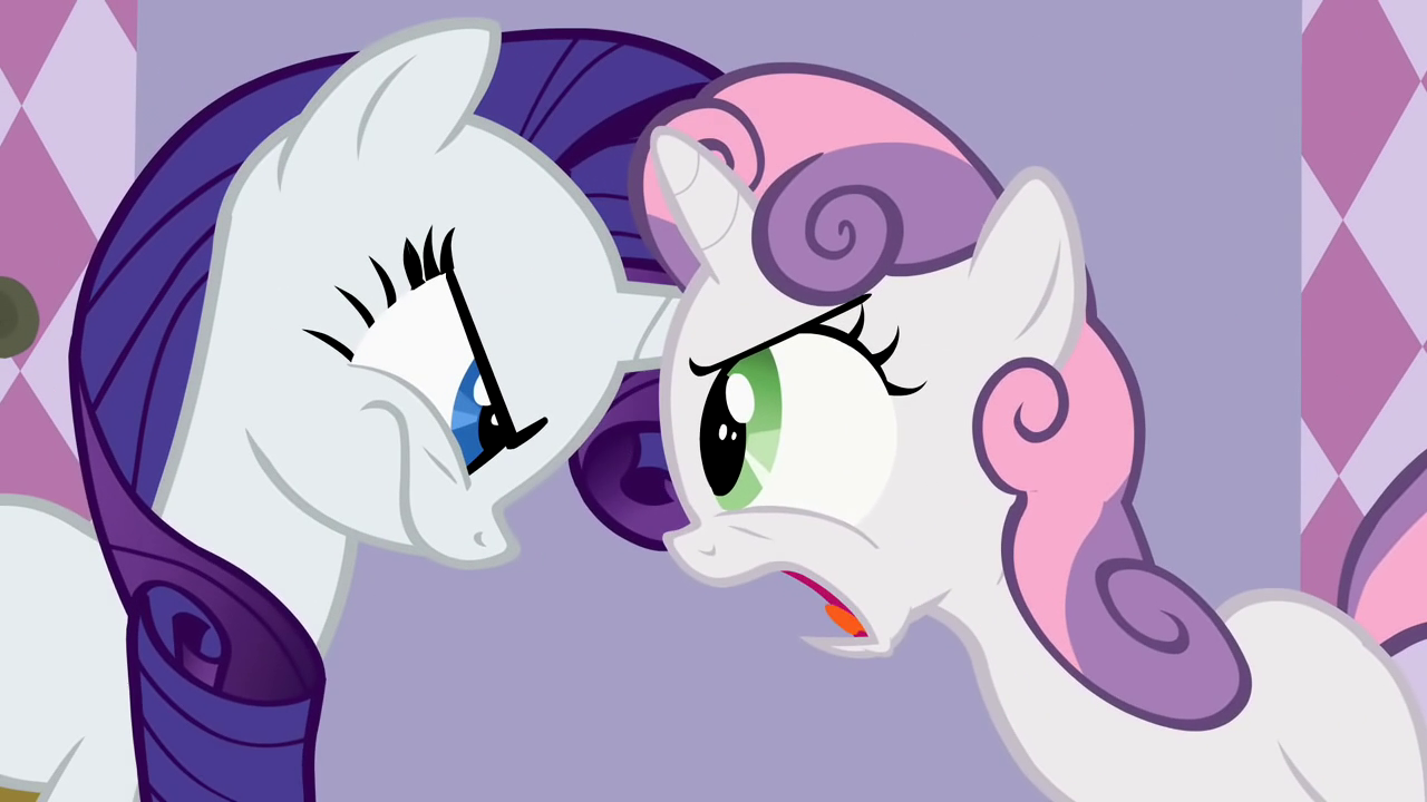My little pony rarity and sweetie belle - photo#52