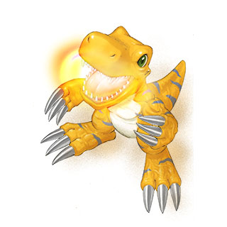 Agumon X b