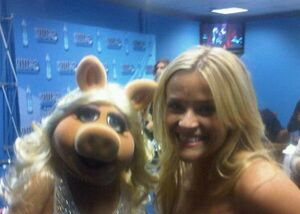 Piggy and Reese Witherspoon