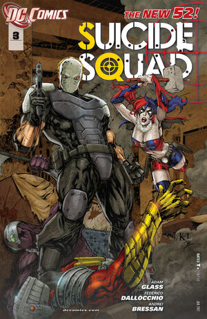 Cover for Suicide Squad #3