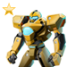 Item life-sizerobot gold 01