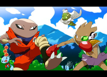 Pokemon DBZ Showdown by EiffelArt
