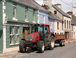Valtra N 91 with trailer in Ardara
