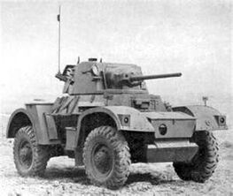 Daimler Armored Car Mk II