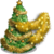 Gold Tinsel Tree-icon