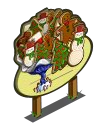 Giant Gingerbread Tree Mastery Sign-icon