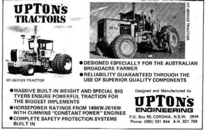 Upton&#39;s 4WD
