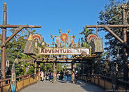 Adventureland gate
