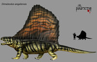 Dimetrodon angelensis by Theropsida