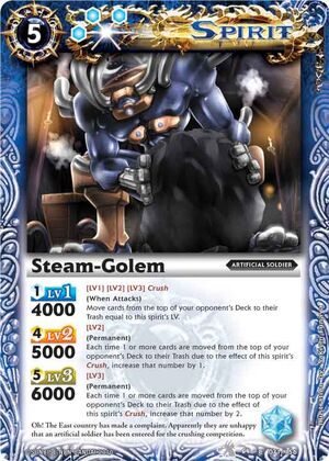 Battle Spirits Set 4 300px-Steam-golem2