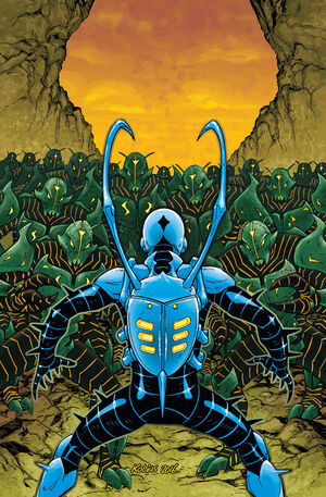 Blue Beetle Vol 9 3 Textless