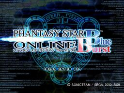 Phantasy Star Online: Blue Burst