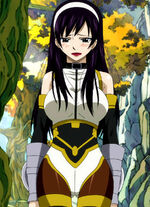 Ultear blushing