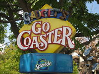 Gadget&#39;s Go Coaster at Disneyland