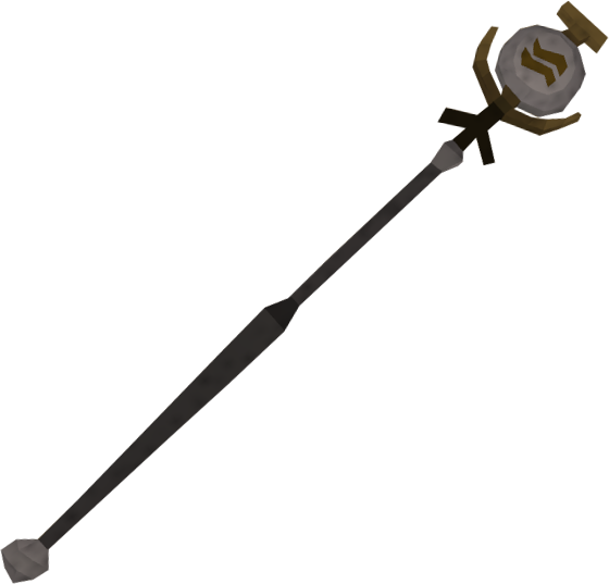 Earth talisman staff detail