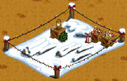 Winter Animal Pen Placed