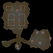 Gamers' Grotto Map