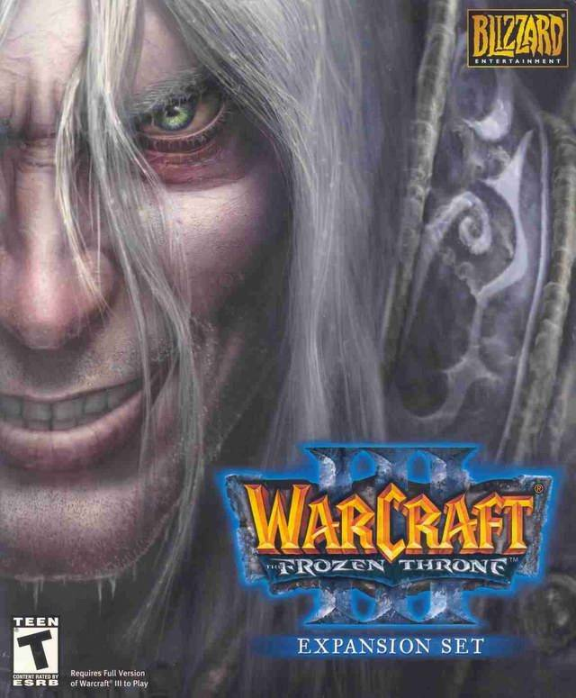 Yo recomiendo... - Página 2 Warcraft_III_-_The_Frozen_Throne_-_Portada