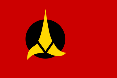 Klingon Empire flag
