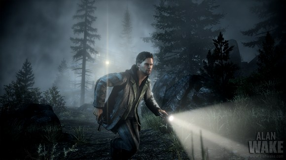 Alan Wake Runnin W Flashlight