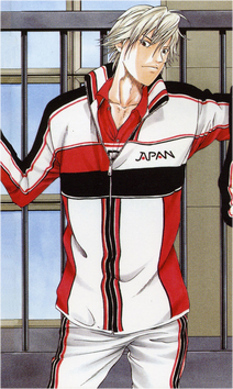 Shiraishi in uniform