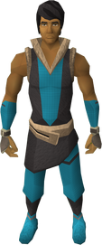 Mercenary&#39;s gloves equipped