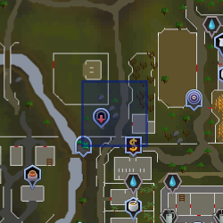 North Ardougne Tele Location